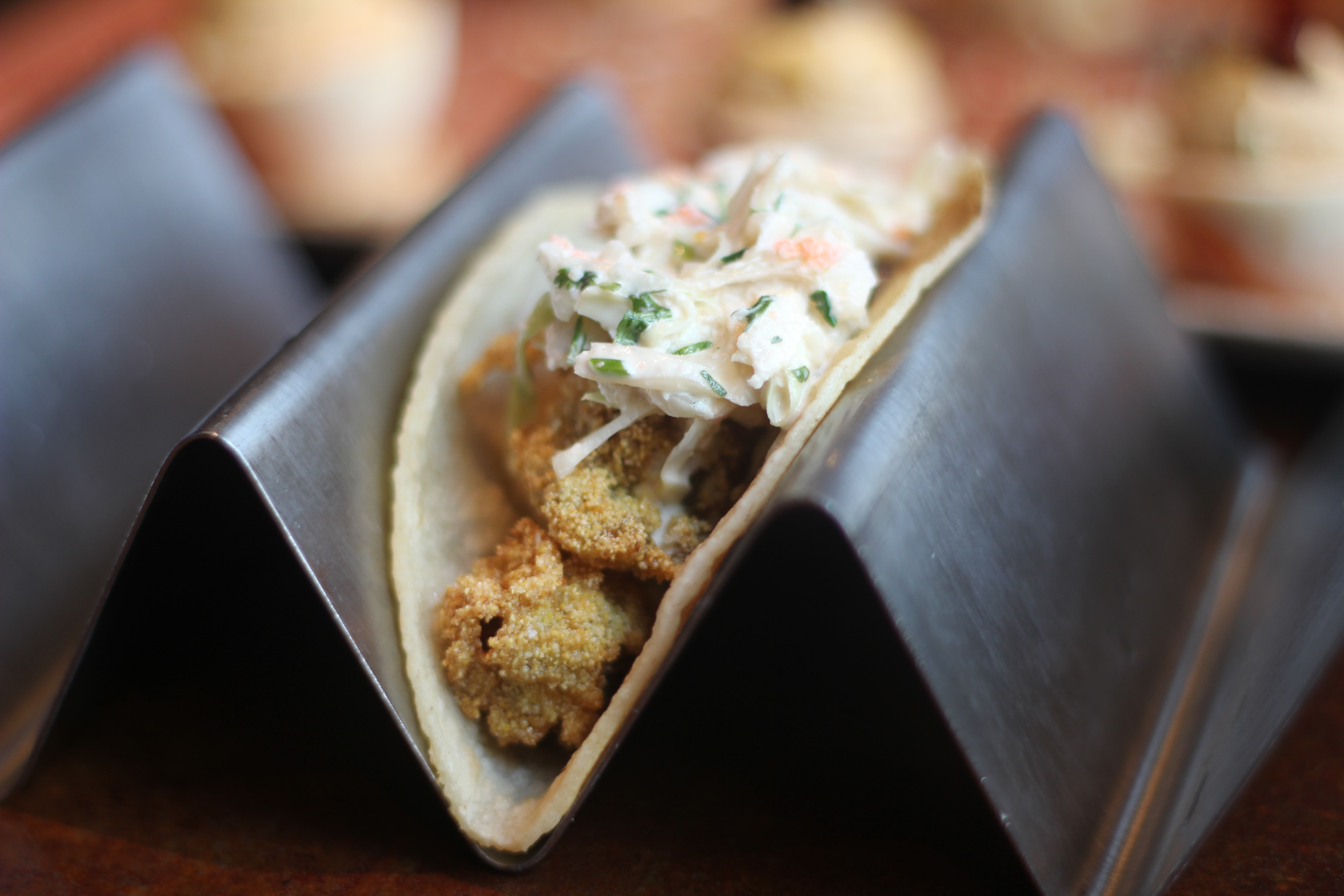 Fried Oyster Taco